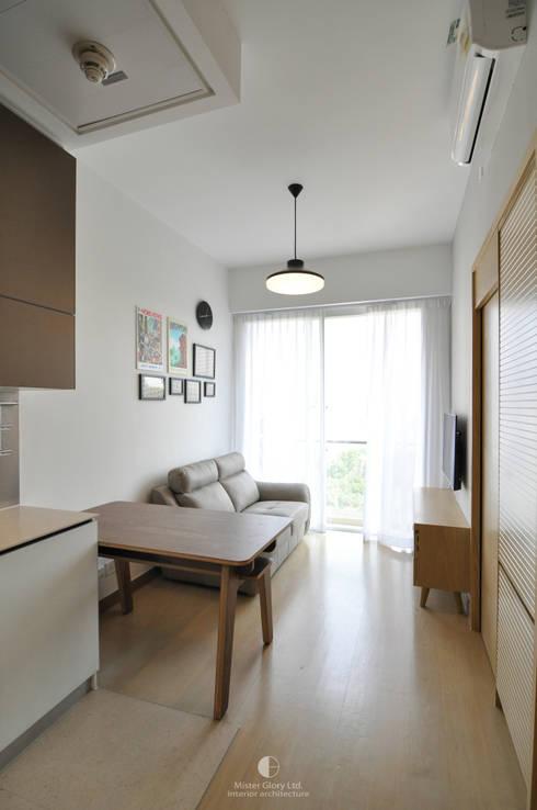 2: minimalistic Living room by Mister Glory Ltd