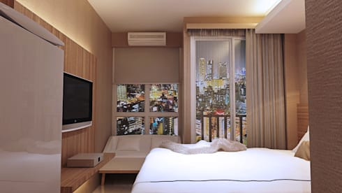 View 1: modern Bedroom by Pro Global Interior