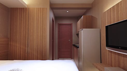 View Pintu Utama: modern Bedroom by Pro Global Interior
