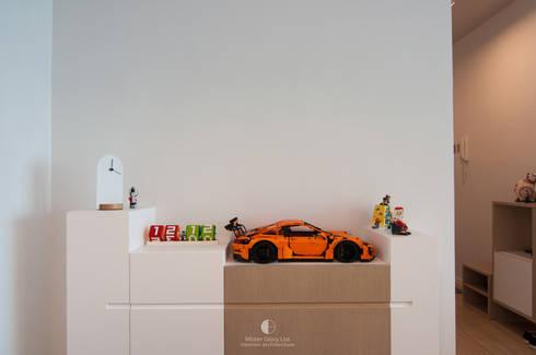 6: minimalistic Living room by Mister Glory Ltd