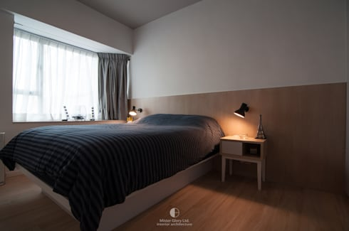 7: minimalistic Bedroom by Mister Glory Ltd