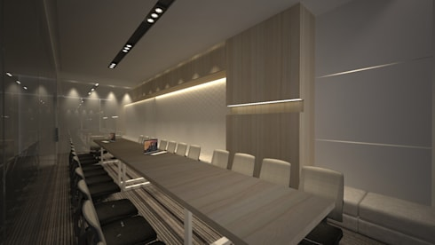 Meeting Room A:  Ruang Kerja by ARAT Design