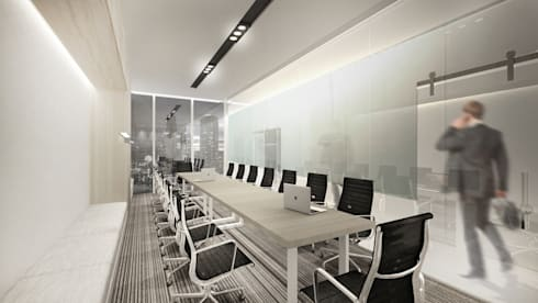 Meeting Room C:  Ruang Kerja by ARAT Design