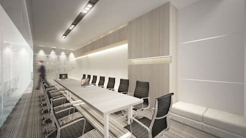Meeting Room D:  Ruang Kerja by ARAT Design