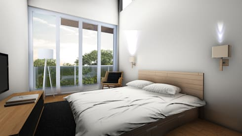 Bed Room A:  Kamar Tidur by ARAT Design