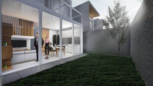 Backyard:  Taman by ARAT Design