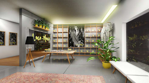 Seating Area:  Ruang Komersial by ARAT Design