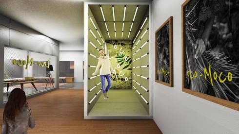 Photo Booths:  Ruang Komersial by ARAT Design