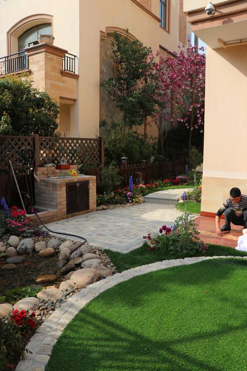 SuZhou Garden 02:  Front yard by  M  Garden