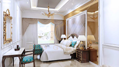 Ranjang dan Panel Ranjang:  Bedroom by Pro Global Interior