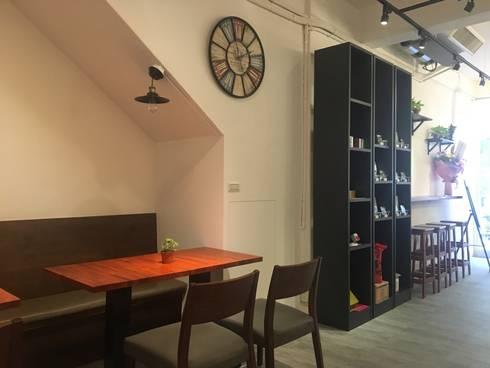 諾馬連鎖咖啡店 哈密店:  餐廳 by 捷士空間設計