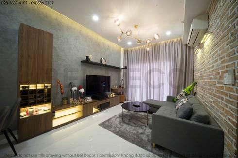 Project: HO1784 Apartment (IC)/ Bel Decor :  Phòng khách by Bel Decor