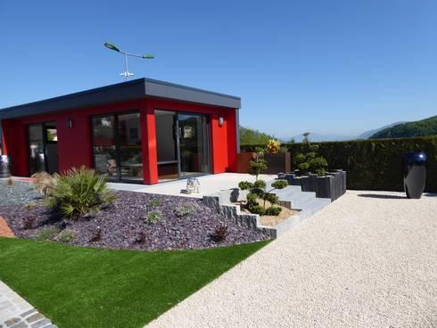 abri de jardin contemporain por berger jardins homify. Black Bedroom Furniture Sets. Home Design Ideas