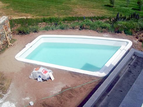 construccion de piscina temperada por piscinas