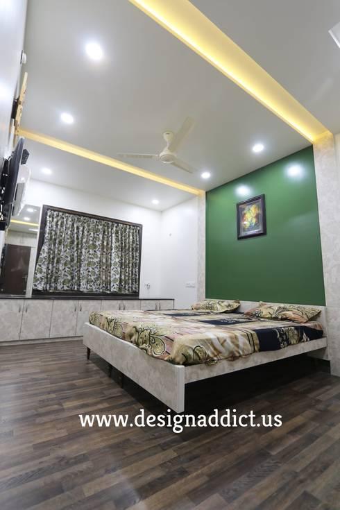 bedroom interior design: modern Bedroom by Designaddict