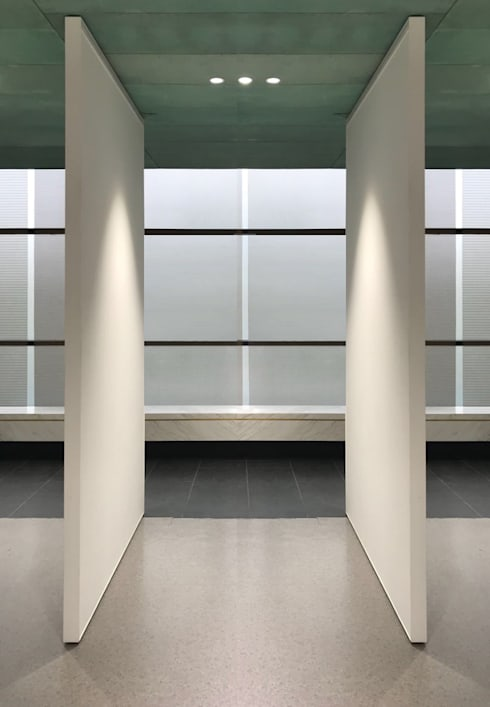 Gallery Partition :  Museums by Nomad Office Architects 覓 見 建 築 設 計 工 作 室