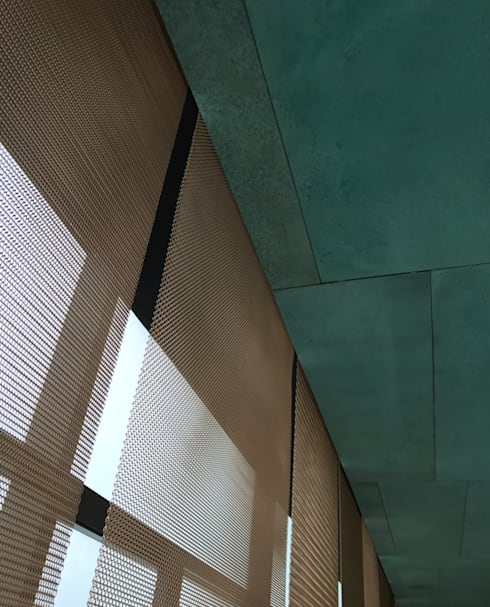 Mesh screen:  Museums by Nomad Office Architects 覓 見 建 築 設 計 工 作 室