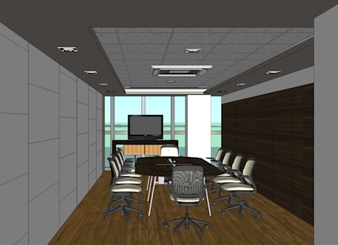 2012 PROJECTS: modern Study/office by MKC DESIGN
