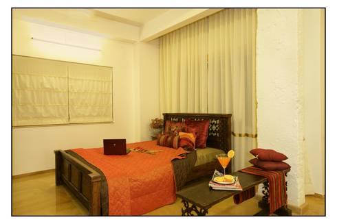 Bed room : mediterranean Bedroom by RA LIFESTYLES