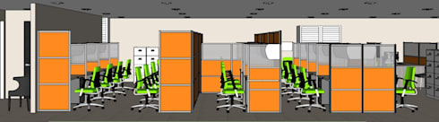 2014 PROJECTS: modern Study/office by MKC DESIGN