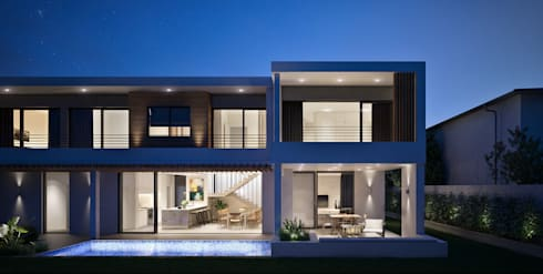The Arin: modern Houses by Cleo Architecture Studio