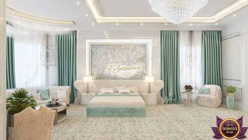 Contemporary home design by Katrina Antonovich: modern Bedroom by Luxury Antonovich Design