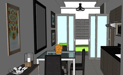 2015 PROJECTS: modern Dining room by MKC DESIGN