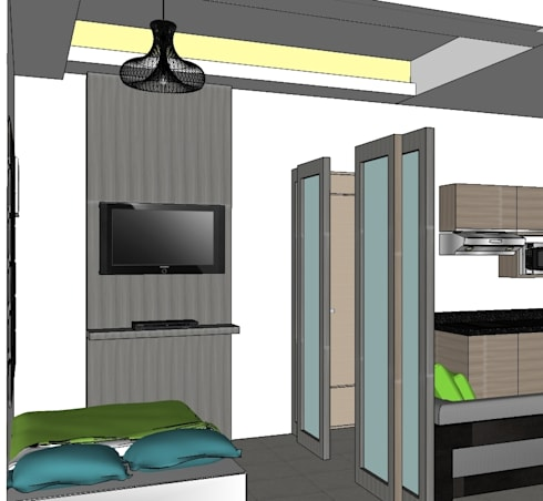2015 PROJECTS: modern Bedroom by MKC DESIGN