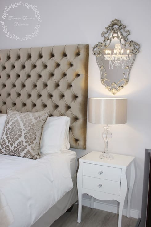 Old world glamour: classic Bedroom by Tamsyn Fowler Interiors