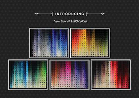 Color Reference system-pom pom boxes:  Walls & flooring by Global Floor Furnishers