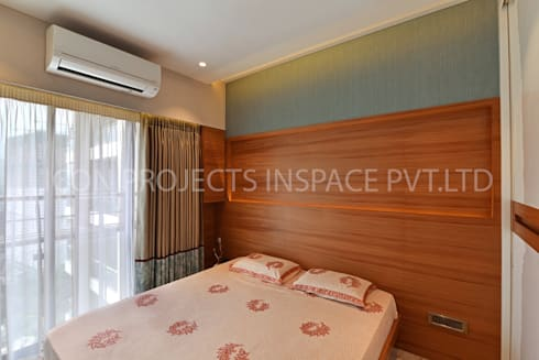 2Bhk Residence -1: modern Bedroom by icon projects inspace pvt ltd
