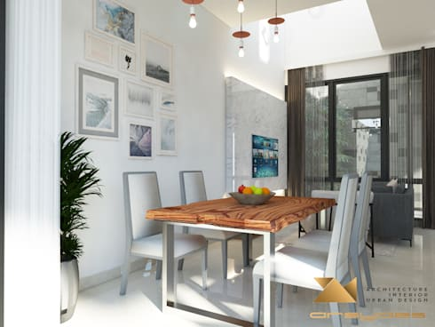 Ruang Makan:   by Arsa Synergy Design