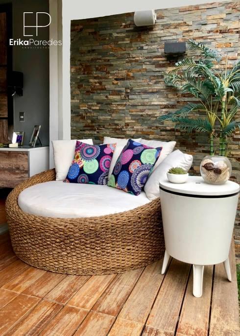 Terraza de Dormitorio : Dormitorios de estilo  por EPG  Studio
