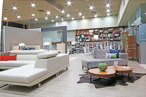 Living Room: modern Living room by Alfaiate d'Interiores