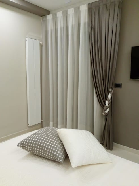 Tende moderne per interni 23 modelli e tessuti da copiare - Tende sala moderna ...