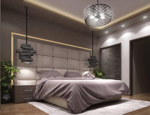modern Bedroom by TK Designs
