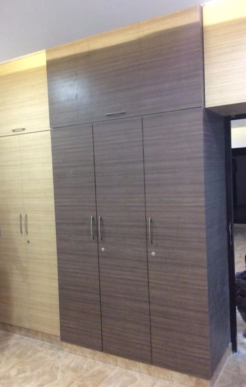 Interior: modern Dressing room by Aspectra Interia Solution