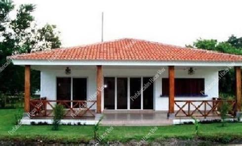 Casas prefabricadas : Casas prefabricadas de estilo  por Prefabricados Hacer Vivir