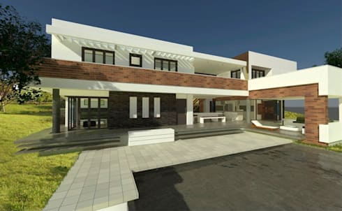 Casa Garcia:  de estilo  por AMR estudio