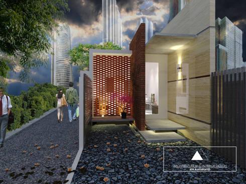 Rumah nyempil:   by Jevi n associates