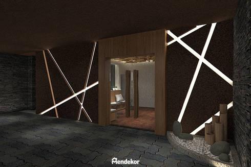 Exterior:  Ruang Komersial by Mendekor