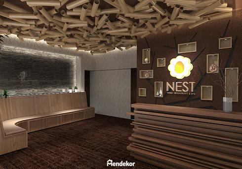 Lobby:  Ruang Komersial by Mendekor