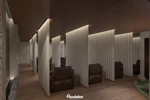 Reflexology Area:  Ruang Komersial by Mendekor