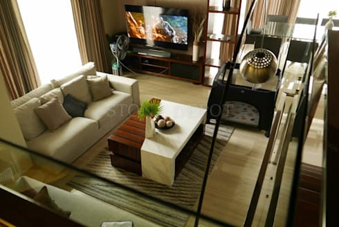 Volakas White Marble Table Top in Busay, Cebu City: modern Living room by Stone Depot