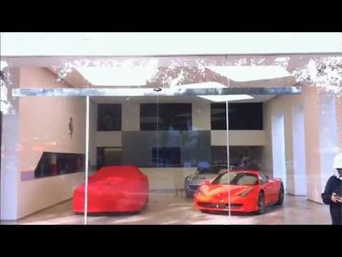Ferrari Showroom:   by Sion Projects