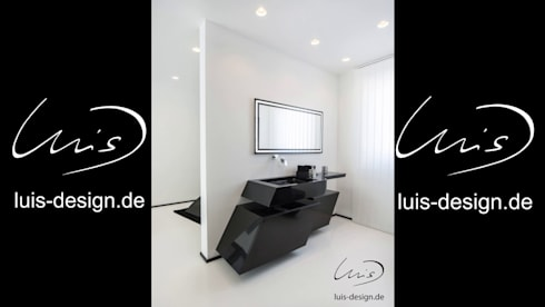 minimalistic Bathroom by Luis Design