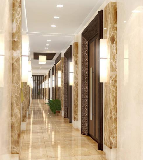 SMR Convention Center:   by TWINE Interior Design Studio