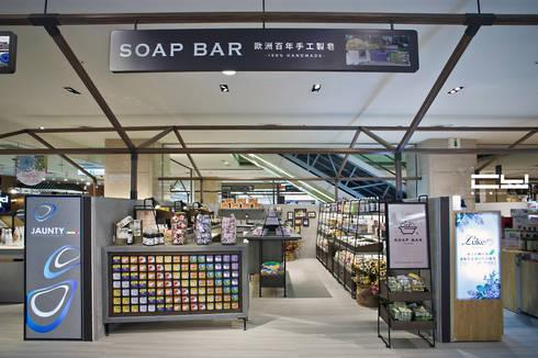 台南市新光三越新天地/Soap Bar 專櫃:  商業空間 by 臣月空間工程