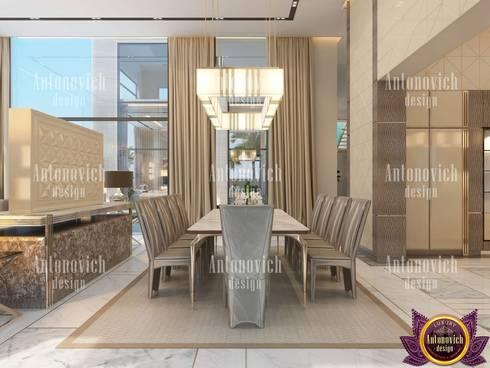 Luxury home design and decor by Katrina Antonovich: modern Living room by Luxury Antonovich Design