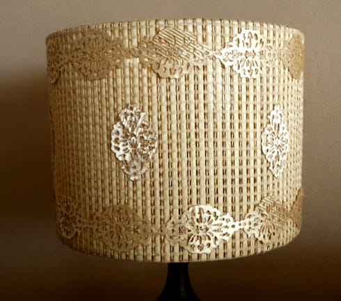 Elements of interior. Lampshades.: classic Living room by Alexandrova living DECOR